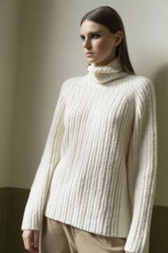 turtleneck sweater kimbra off-white